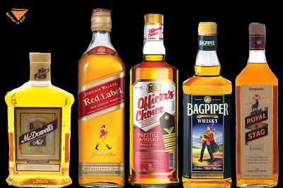 whiskys mas vendidos