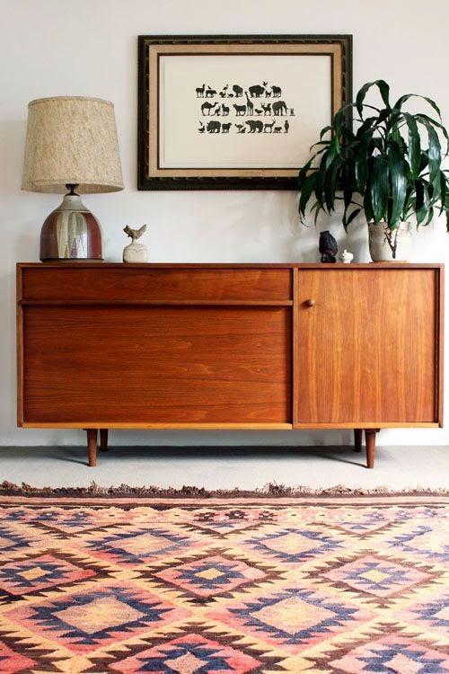 aparador danes vintage para piso pequeño
