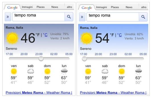 Esto es google resultados con el reporte del clima para - Temperatura en mataro ahora ...