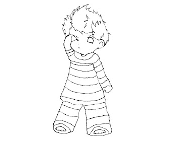 #6 Lucas Coloring Page