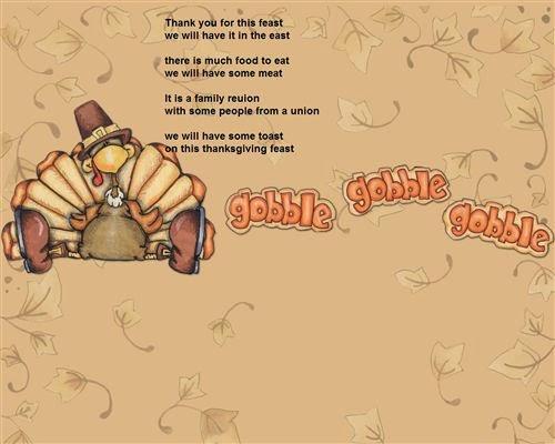 Best Funny Thanksgiving Poems For Children