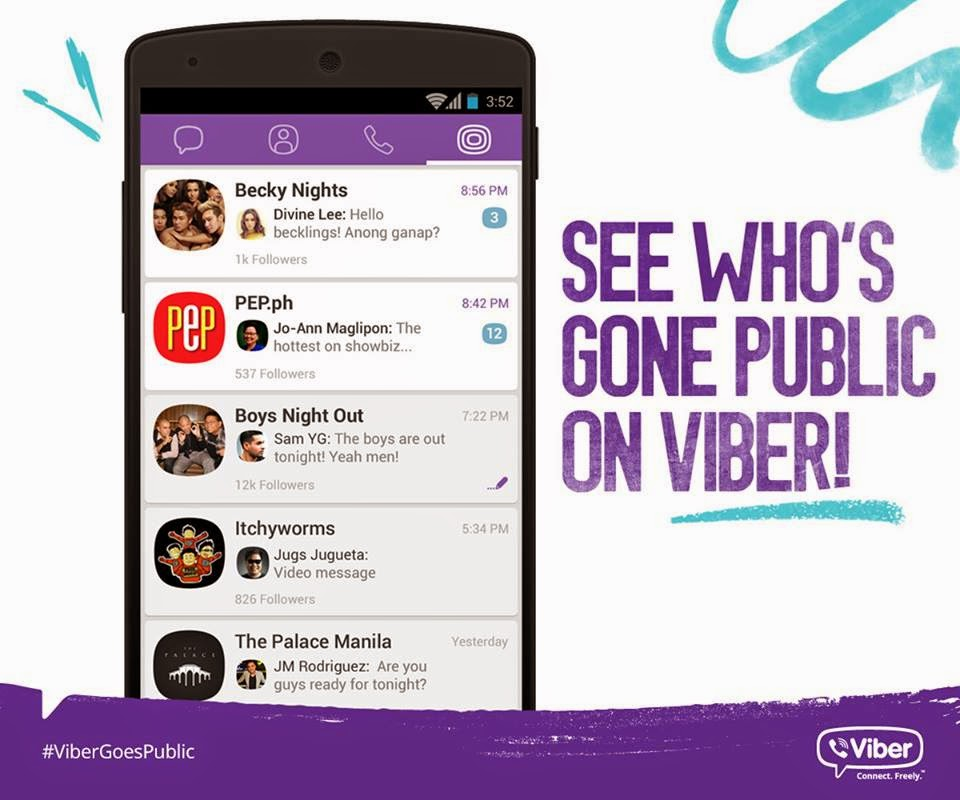 viber chat room