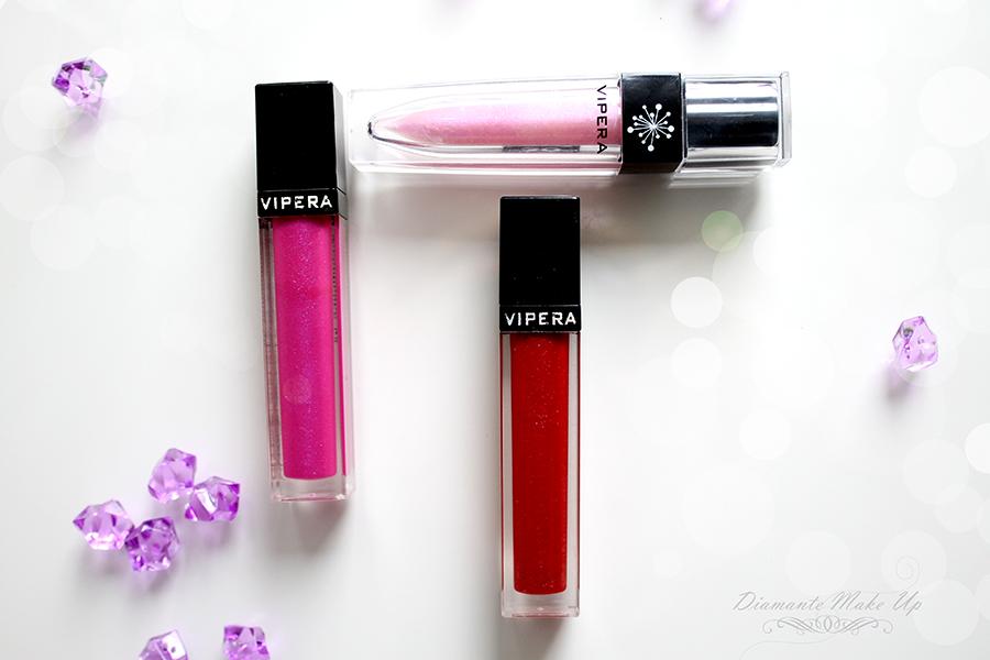 Blyszczyki do Ust Vipera Cosmetics - Recenzja