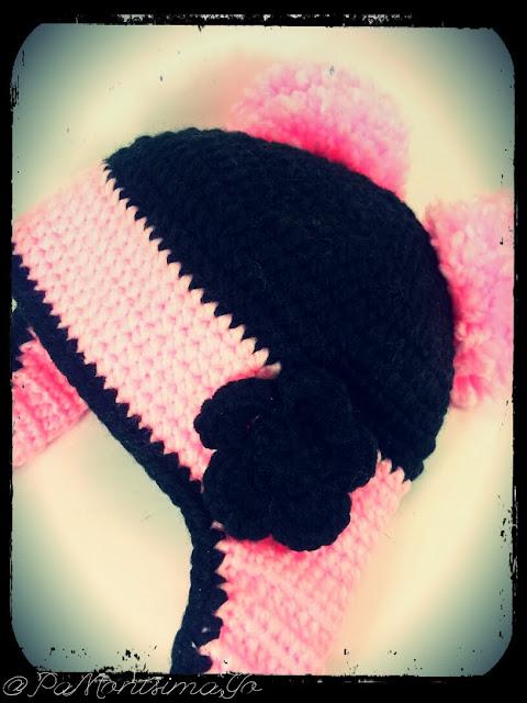 Gorro de lana pomponero @pamonisimayo