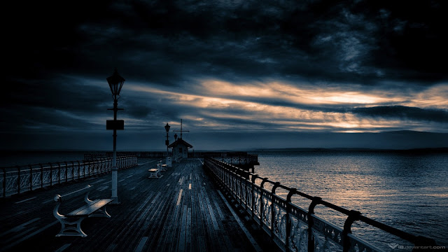Dark Storm Pier