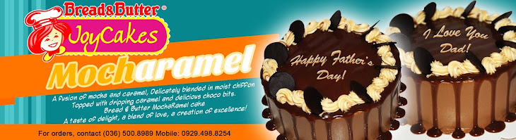 Bread & Butter Celebrates Father's month with MochaRamel Cake