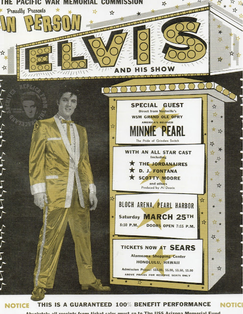 elvis memorabilia via lovebirds vintage
