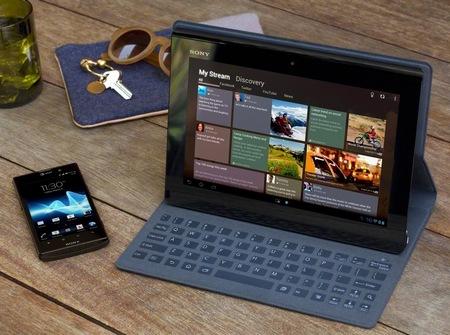 Sony Xperia S Tablet dengan Tegra 3