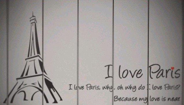 Paris Wallpaper For Bedroom