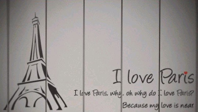 Paris: Paris Wallpaper For Bedroom