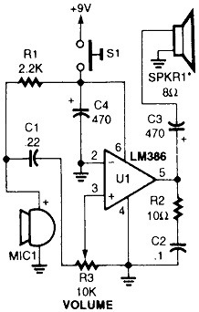 Circuitos Amplificador Audio