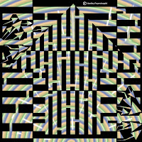swirl black up maze