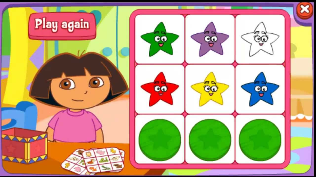 Dora coloring games online to play - Co Coloring Games Dora The Explorer Dora Games Dora The Explorer Games Nick Gamess Bingo