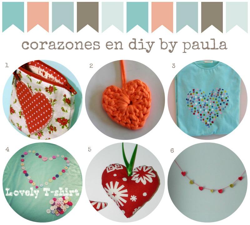Corazones DIY