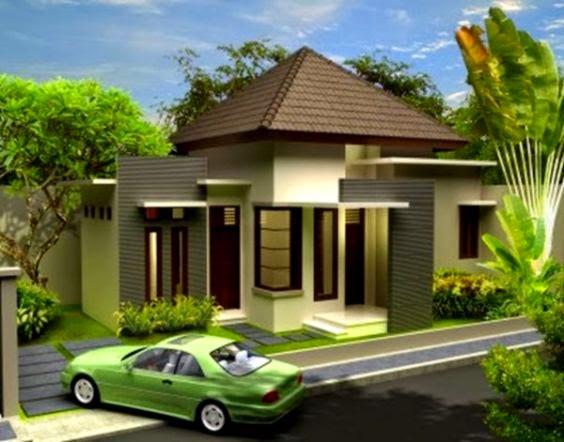 Contoh Desain Rumah Minimalis Terbaru 2015