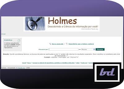Holmes: descobrindo a Ciência da Informação por você!