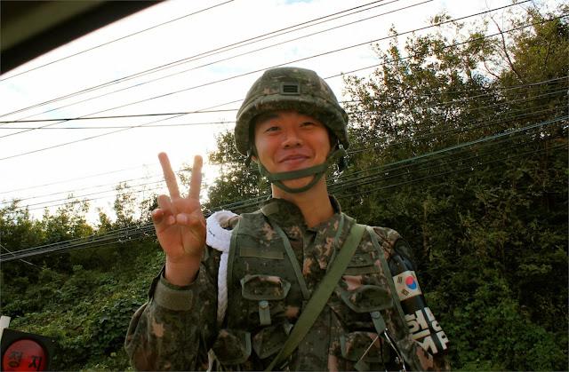 rok korean soldier