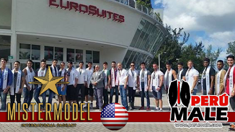 Candidatos a Mister Model International 2015