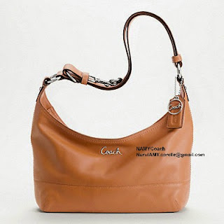COACH LEATHER PIECED E W DUFFLE