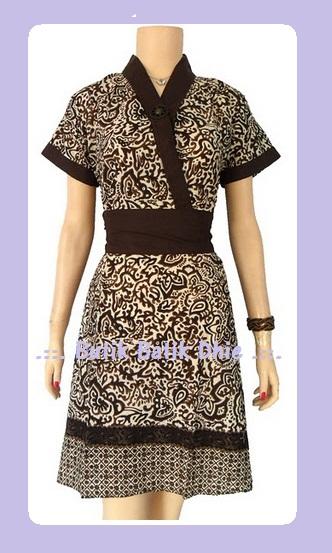 Artikel Gambar Dress Batik Kombinasi Kebaya | Heart Land Fair Field