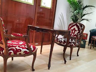 椅子の張り替え<オズボーン&リトル> F5950-07