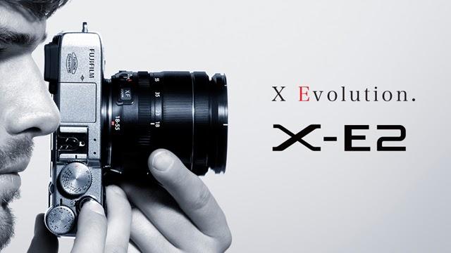 Banner della Fujifilm X-E2