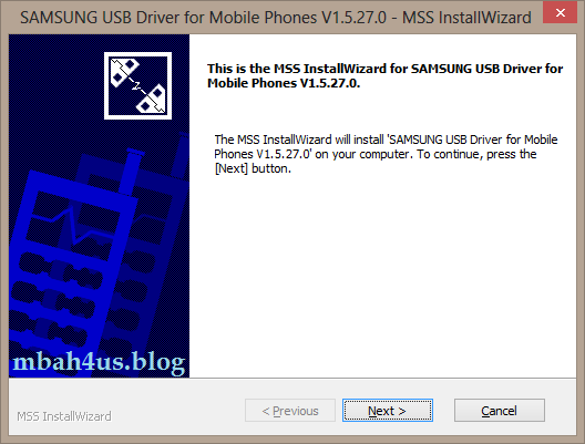 samsung driver android install