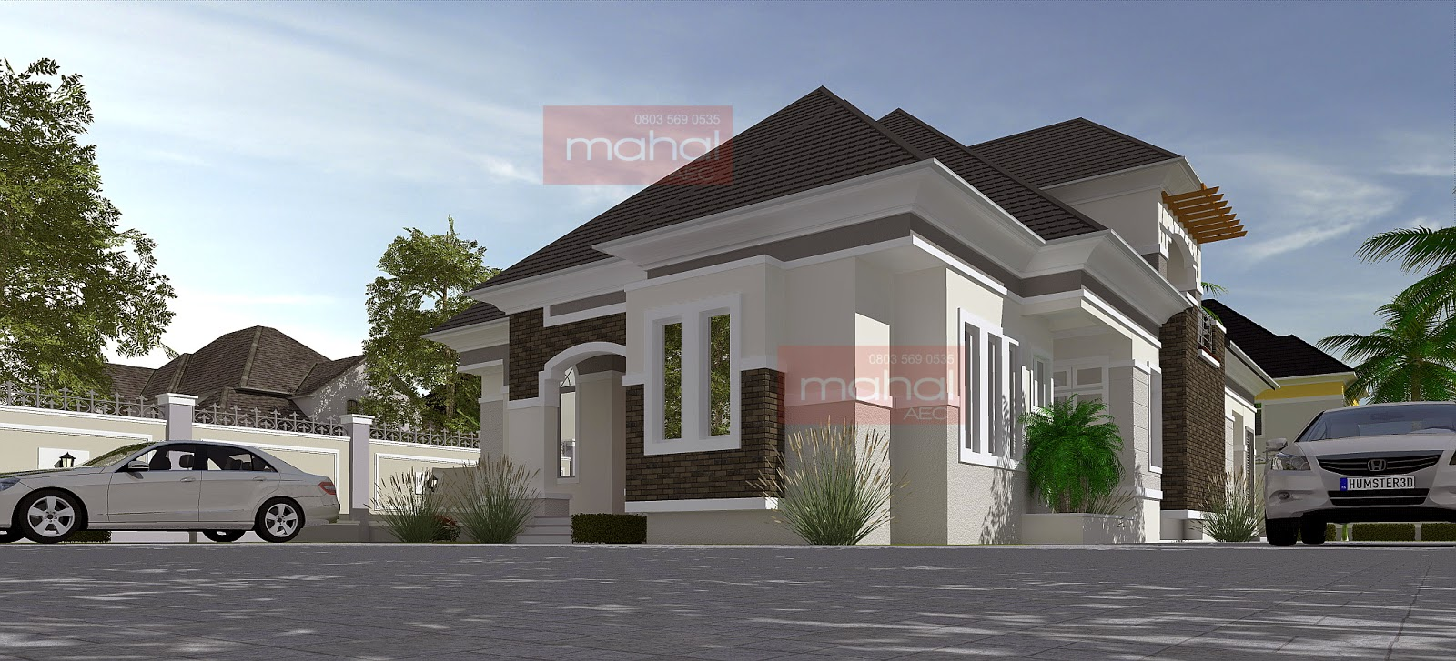 Contemporary nigerian residential architecture caoimhe house for Nigerian home designs photos