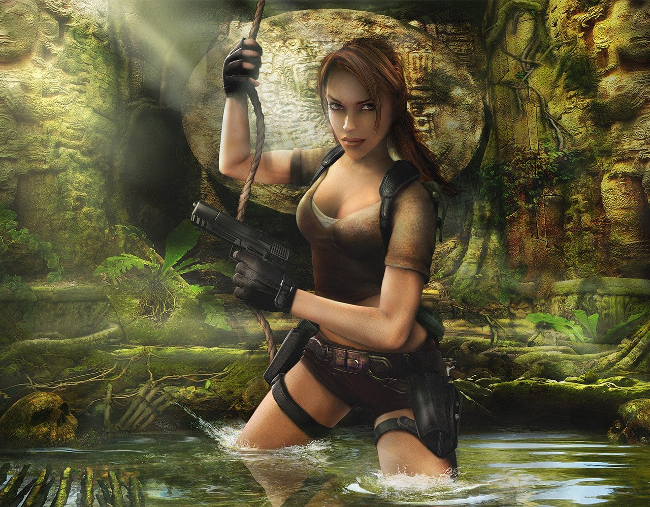 Tomb Raider HD & Widescreen Wallpaper 0.380074953792599