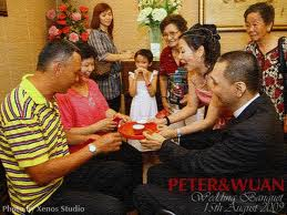 Malaysian Chinese Wedding Tea Ceremony