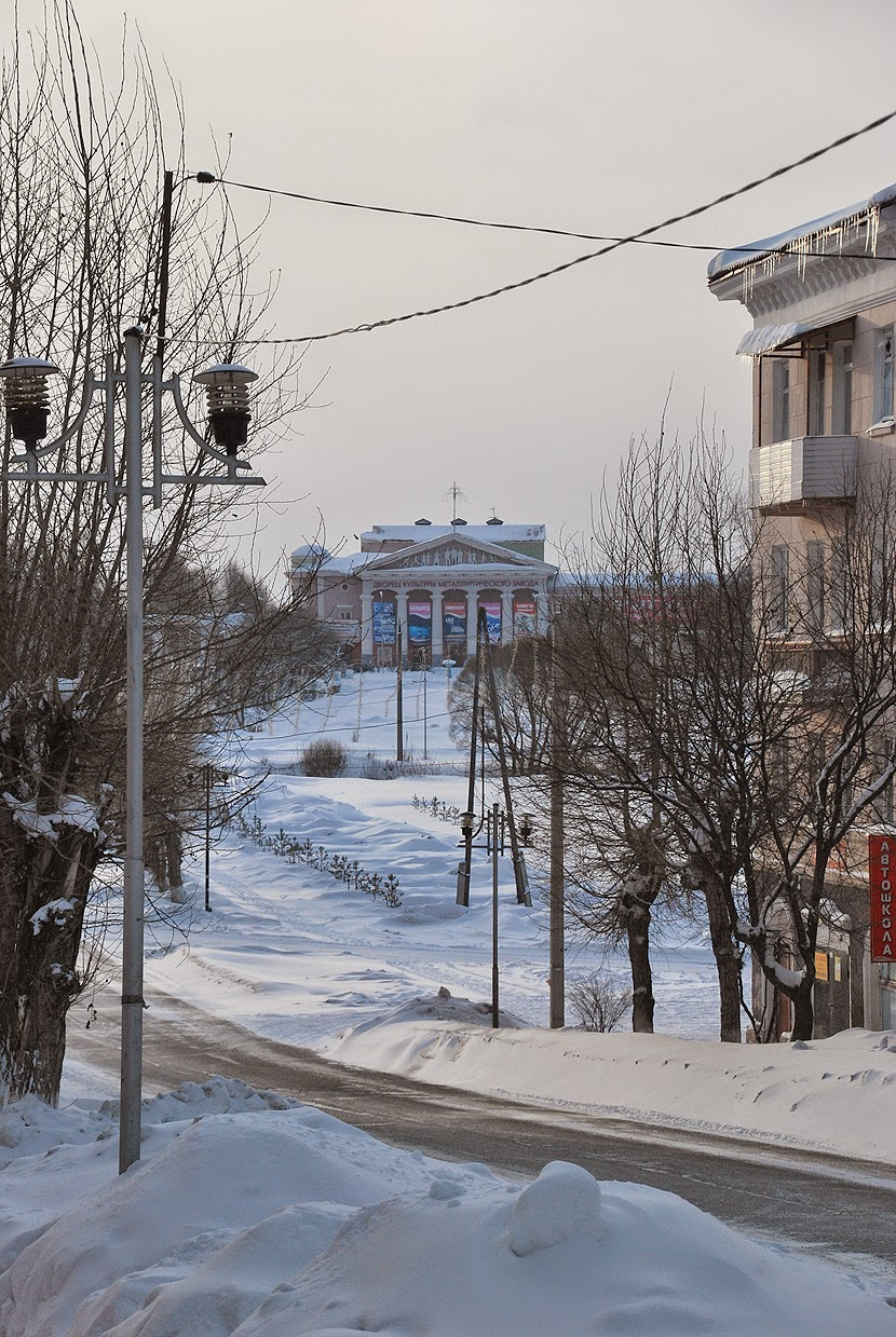 Лысьва, дворец ЛМЗ