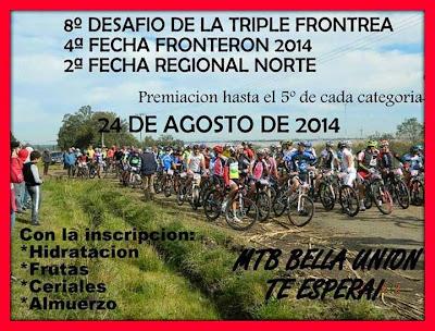 MTB Bella Unión (Artigas, 24/ago/2014)