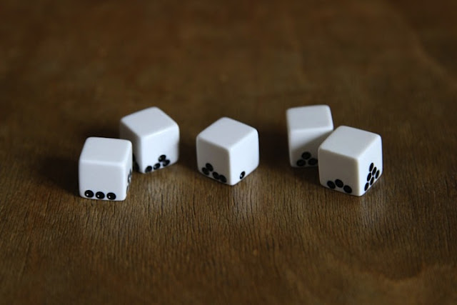 Gravity dices