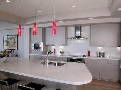 C mo iluminar la cocina ideas para decorar dise ar y mejorar tu casa - Iluminacion para cocinas modernas ...
