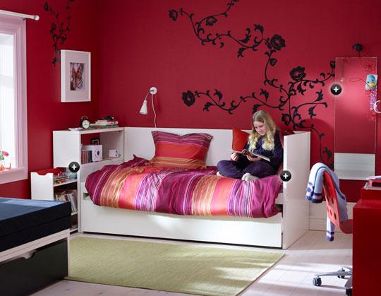 Dormitorios y decoracion for Sofas para habitaciones juveniles