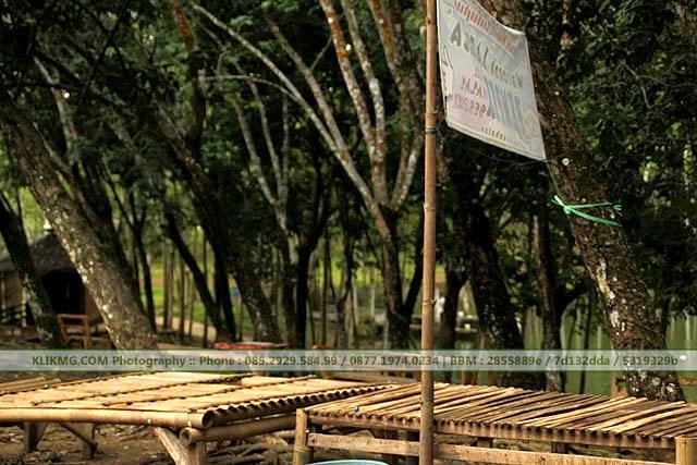 Telaga / Waduk Kubangkangkung, Kawunganten - Bagian dari Banaran Resto Krumput Banyumas di Cilacap