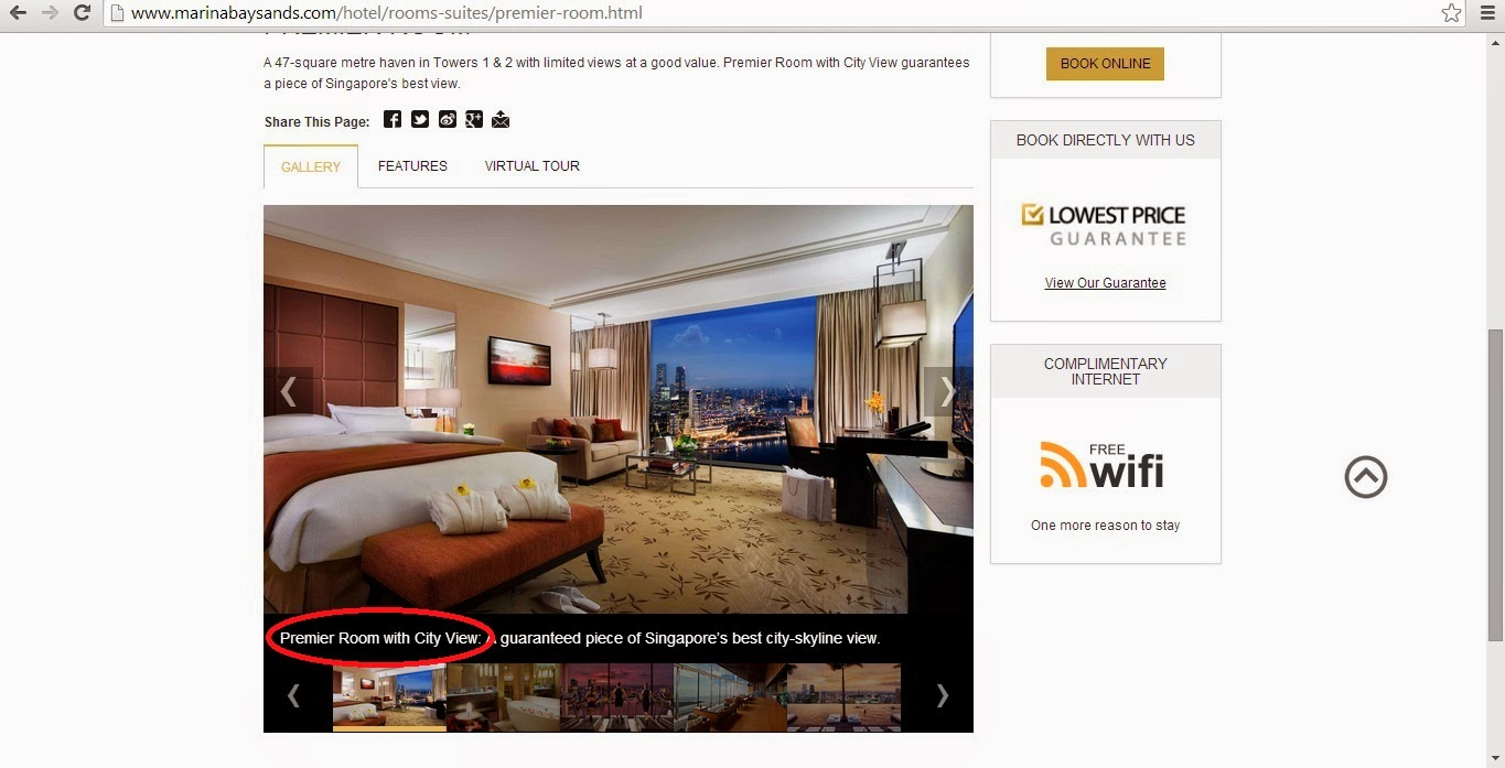 According to Marina Bay Sands official website   Premier Room  Gallery. mshuiling   Staycation  Marina Bay Sands