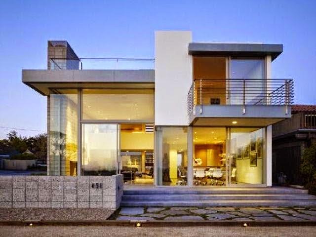 rumah minimalis Modern Gaya Eropa