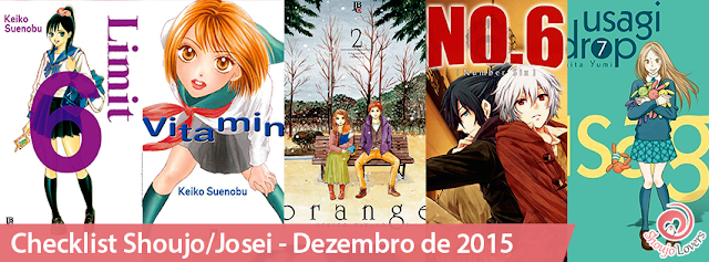 Checklist Shoujo/Josei - Dezembro de 2015 (Limit-Vitamin-Orange-No.6-Usagi Drop