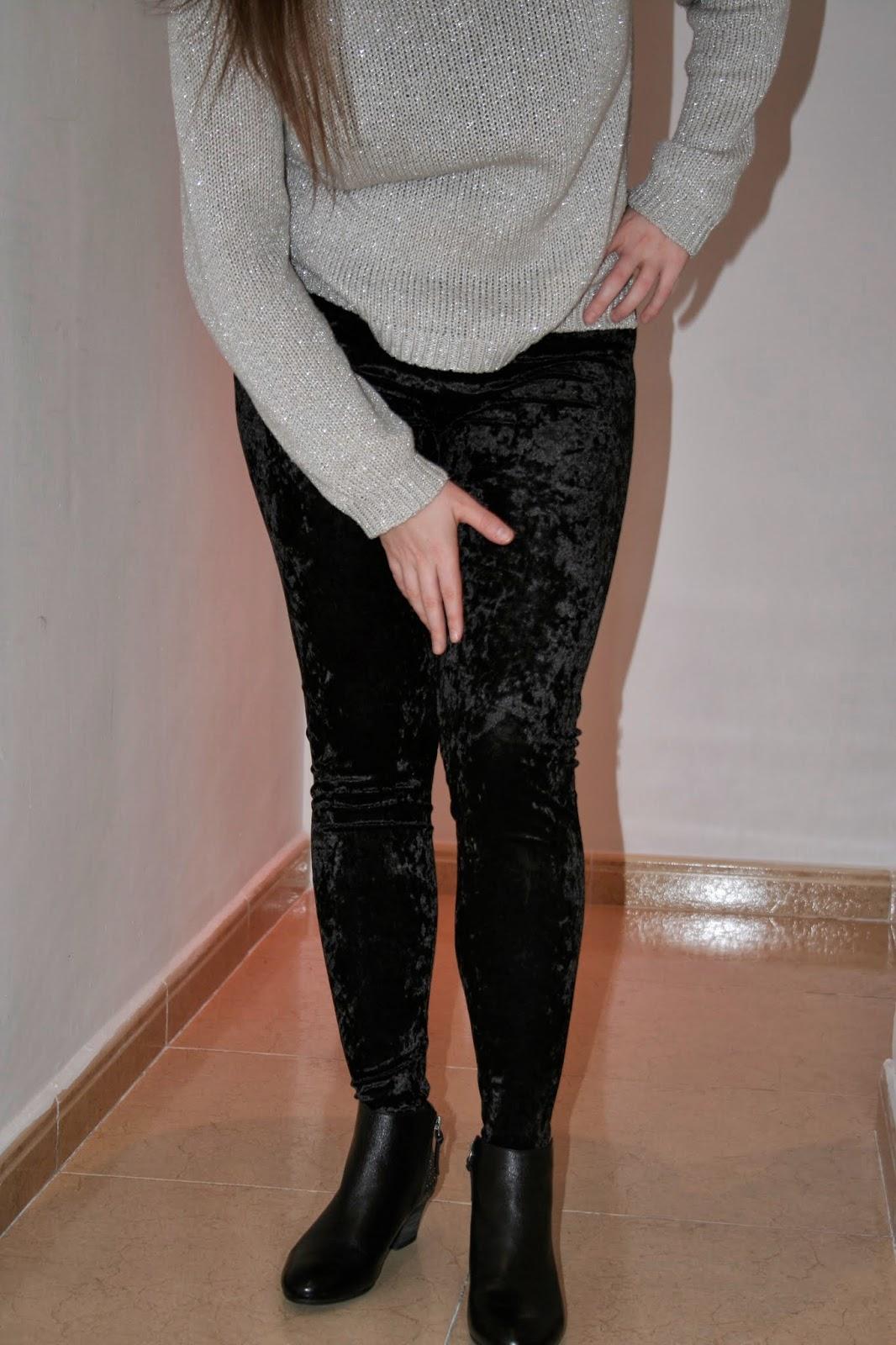 cose conmigo sew along maider masustak eguzkitan leggins terciopelo elástico negro modistilla de pacotilla