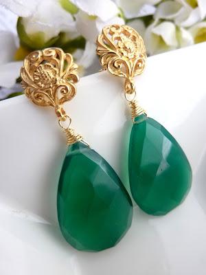 Emerald Earring models