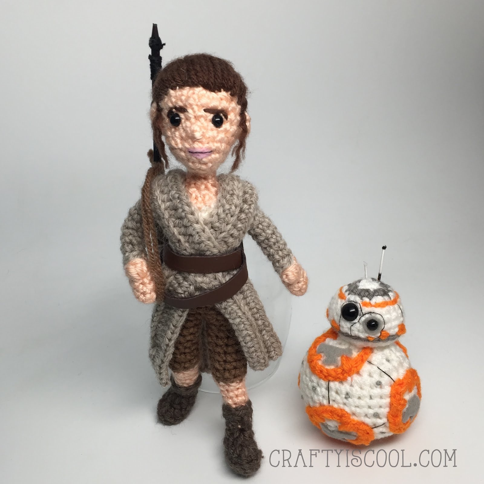 Free Crochet Star Wars Doll Patterns : CRAFTYisCOOL: Happy New Year with BB-8! FREE pattern