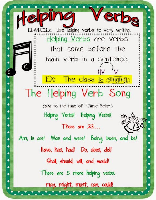 how to use helping verbs in a sentence
