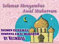 Segmen giveaway sempena Awal Muharam by KecikbesO