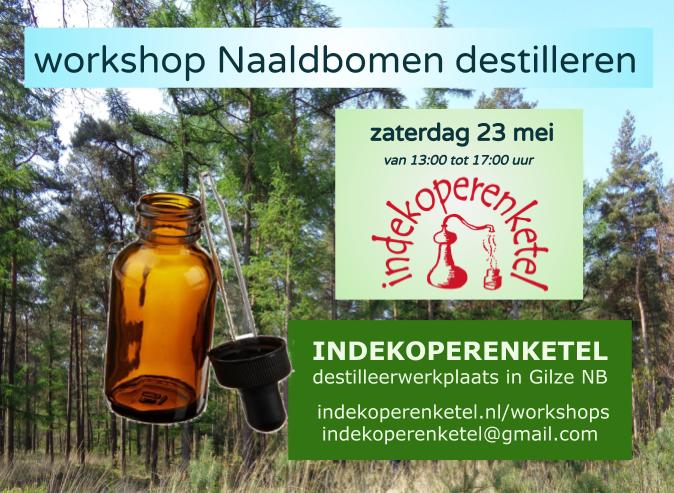 Workshop naaldbomen destilleren