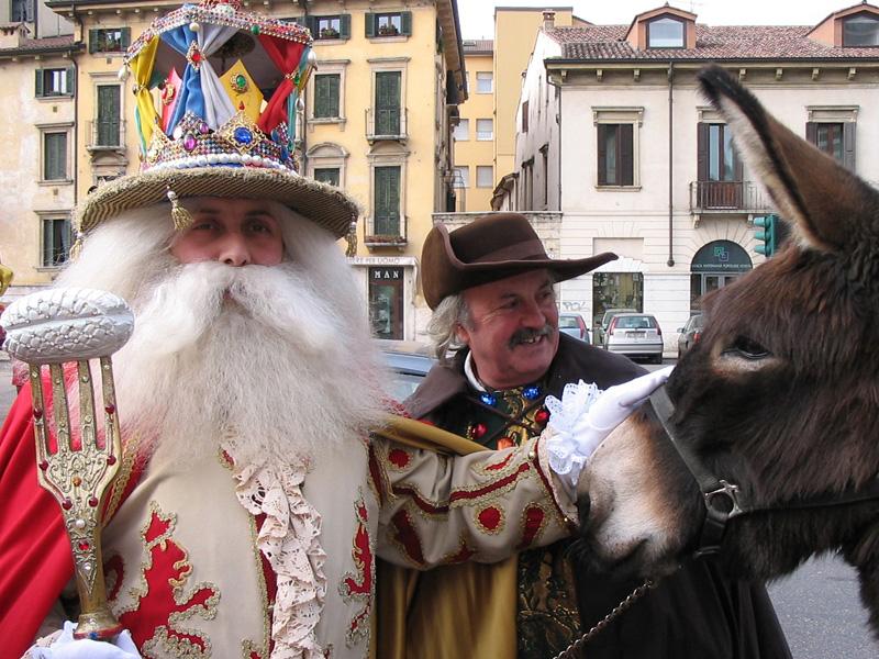 Celebrating Papa del Gnocco! Photo: Verona Tourism.
