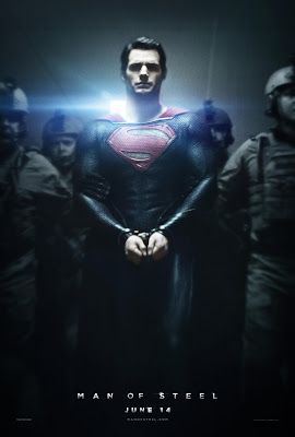 man of steel, man of steel poster, superman movie poster, henry cavill