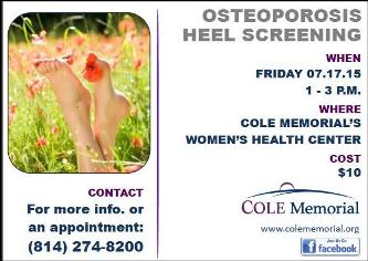 7-17 Osteoporosis Heel Screening