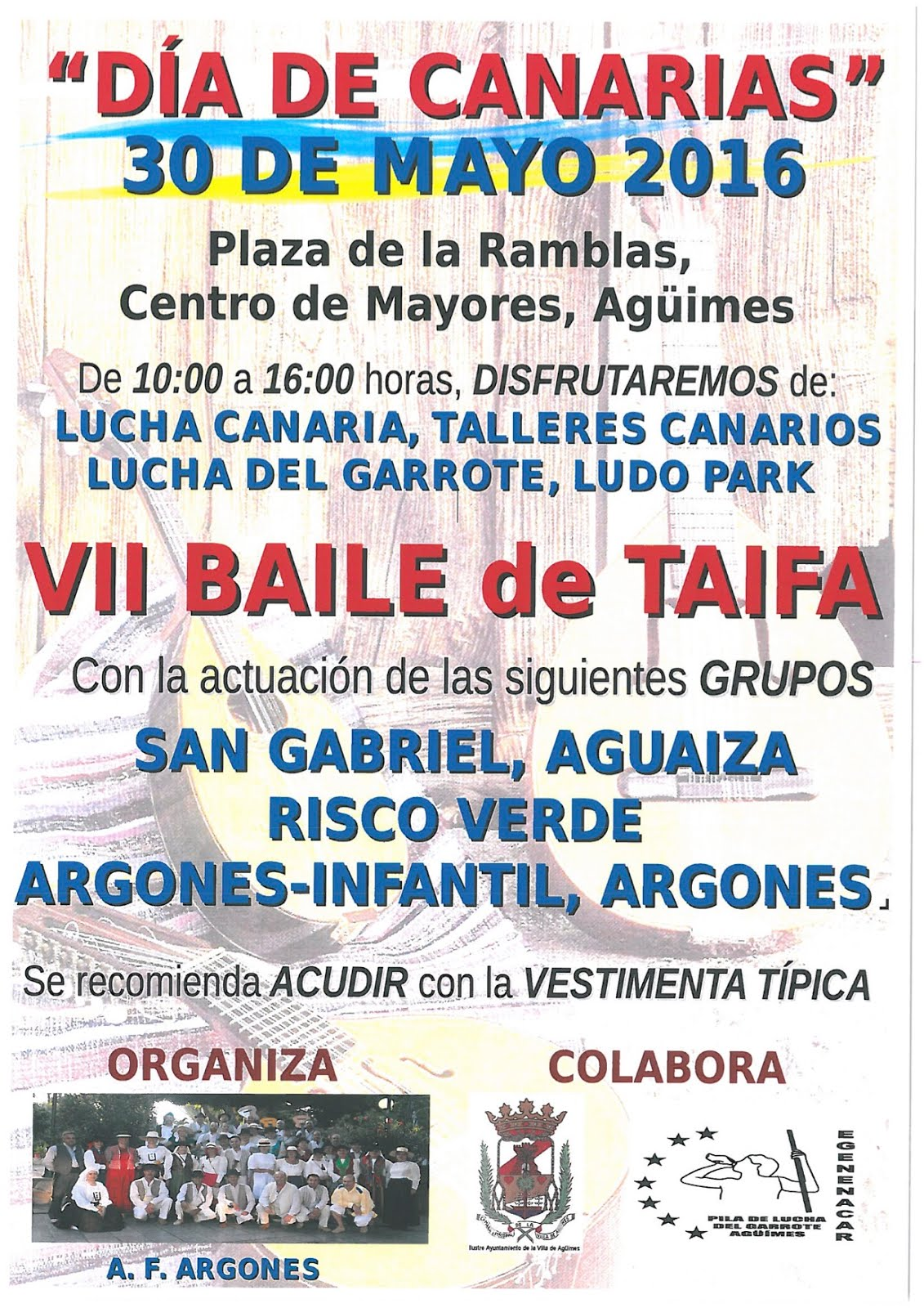 A.F. Argones - día de Canarias