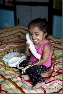 Jyoti wanita terkecil di dunia